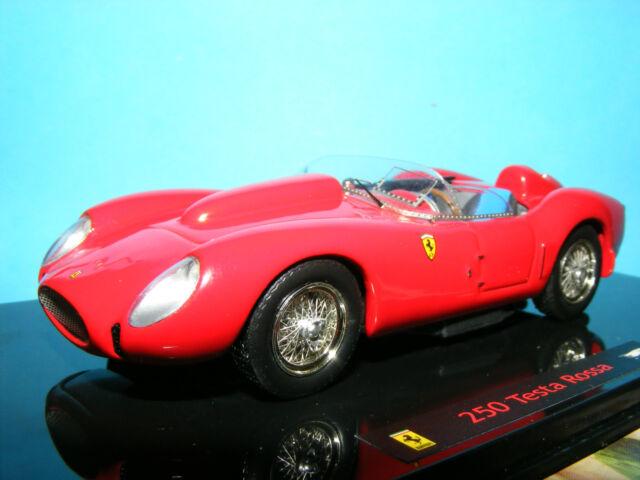 Ferrari 250 Testa Rosso 58 officiel Ferrari produit par Mattel Elite 1:43 NLA