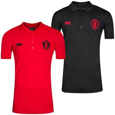 Belgien Fußball Burrda Sport Fan Polo-Shirt 13BG473M Hemd Belgium S M L XL 2XL