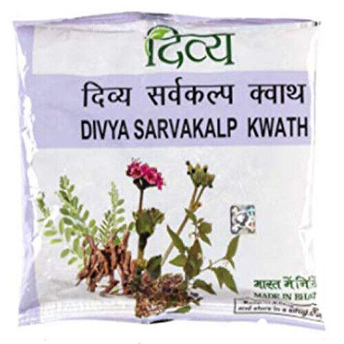 Pack Of 5 Ayurveda Divya Patanjali Sarvakalp Kwath 100 gm Free Shipping