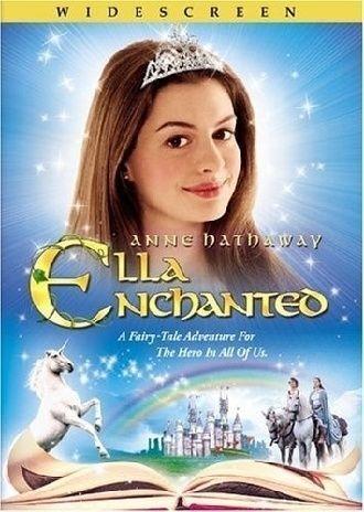 1 of 1 - ELLA ENCHANTED Dvd Movie Kids Video Anne Hathaway Princess Diaries Fun Facebook