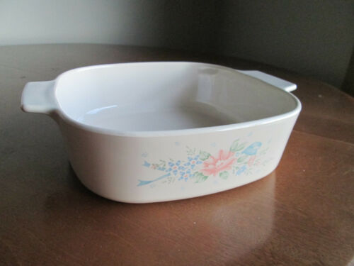 """casserole baking dish with lid serving Vintage Corning Ware /""""Symphony/"""" 2 l"""