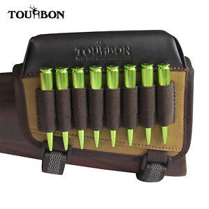 Tourbon-Rifle-Buttstock-Holder-for-Left-Handed-Gun-Cheek-Piece-Rest-Pad-Hunting