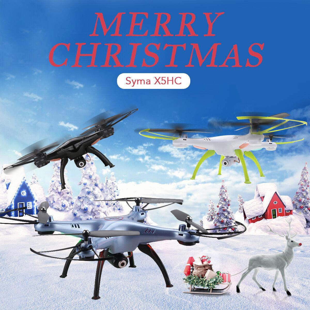 Syma X5HC 4 canali RC Quadcopter Quadricottero Drone with 2.0MP HD Camera Regalo