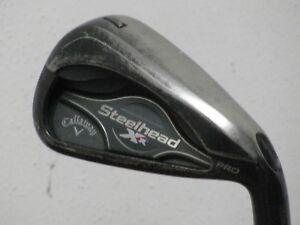 Callaway-XR-Steelhead-Pro-7-Iron-Stiff-KBS-Tour-Steel-CP2-Pro-Grip-Very-Nice