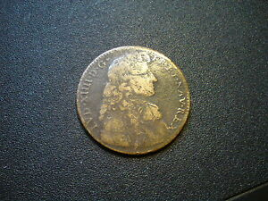 1672-FRANCE-LOUIS-XIV-DABIT-HINC-COELESTIA-DONA-JETON-COIN-RARE