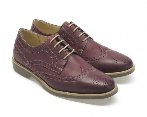 Tucano Shoes Bordeaux Vintage Leather Anatomic Brogue w0BdxUT0X