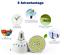 E14-E27-MR16-GU10-LED-5W-8W-10W-Ultra-Bright-2835-COB-Spot-Light-Bulbs-CREE-220V miniature 5