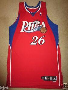 e585d9db00a Kyle Korver #26 Philadelphia 76ers Adidas 2007 NBA Game Worn Used ...