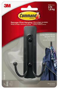 3M-Command-Large-Matte-Black-Double-Decorative-Hook-Damage-Free-Hanging