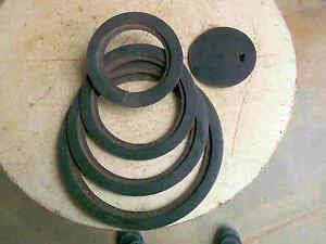 Antike-Gusseiserne-Ofenplatten-Ofenringe-Herdringe-Rund-D-280-mm-RAR-I
