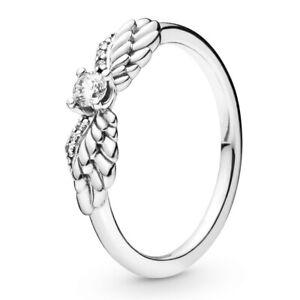 PANDORA-Ring-198500-C01-Non-Stackable-Angel-Wings-Engelsfluegel-Silber