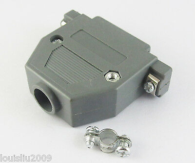 1set DB25 Plastic Hood Cover for D-Sub VGA 25 Pin 2 Rows