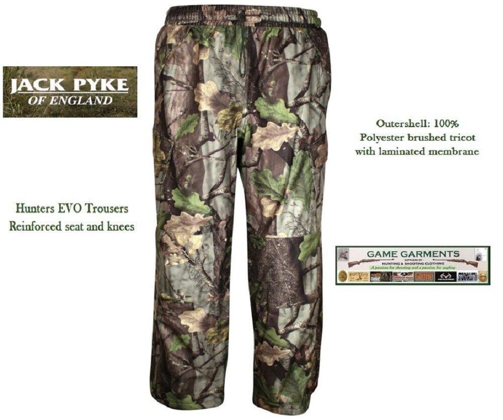 Shoot Jack Pyke Hunter/'s Stealth Evolution EVO Camo Trousers Hunting Fishing