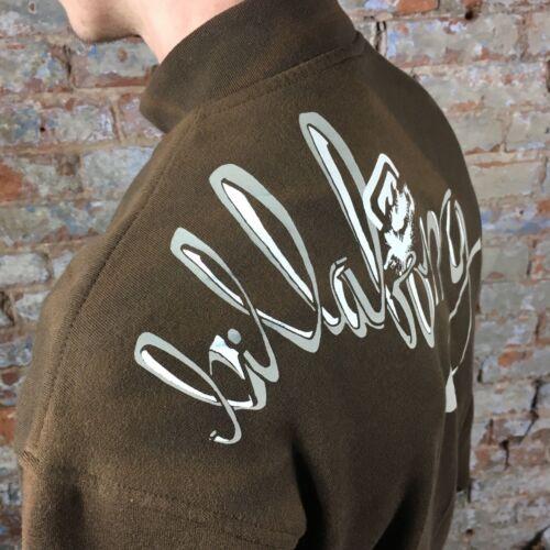 taille UK L marron Billabong Désert Vintage Zip Sweat-shirt