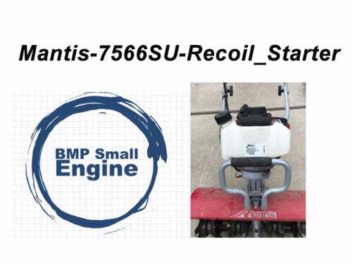Recoil Pull Starter For Mantis 7566-12-02 7566 7566SU Deluxe XP Tiller
