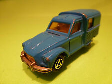 MAJORETTE 235 CITROEN ACADIANE DYANE VAN - BLUE 1:60 - GOOD CONDITION