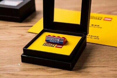 LEGO Store Grand Opening Hangzhou VIP LTD Tile Rarer than SDCC