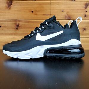 Nike-Air-Max-270-React-AO4971-004-Black-White-Men-039-s-Lifestyle-Running-Shoes