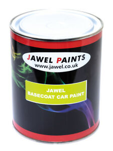 Image Is Loading Rover Polyester Basecoat Car Paint Tahiti Blue Pearl