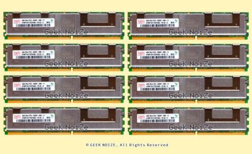 Server RAM 32G 8x 4GB PC2-5300F FB DIMM Fully Buffered DDR2 ECC REG Memory LOT