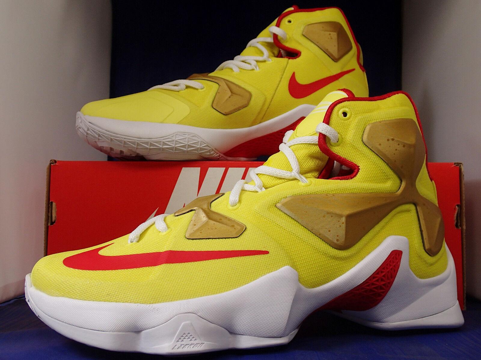 Nike Lebron XIII 13 Identifikation University Gold Rote Sz Us Damen 7 / Damen Us 8.5 6d9e05