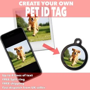500f8c469f98 Create Your Own PET ID TAGS - Use Own Photo Image Design ...