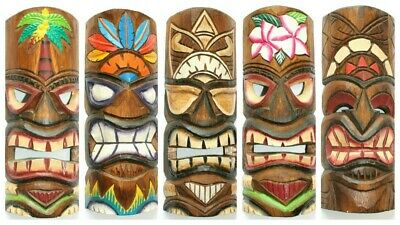 Wohnkult Tiki Wandmaske 100 cm Hawaii Maske aus Holz Wandbrett Wandschild S/üdsee