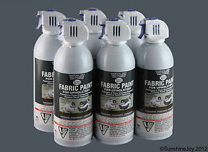 upholstery fabric spray paint 6 charcoal grey car restorations simply spray ebay. Black Bedroom Furniture Sets. Home Design Ideas