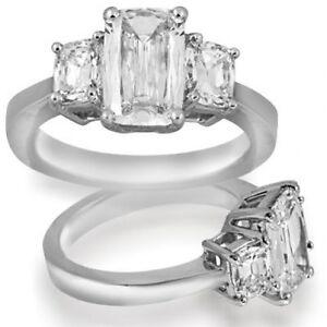 8-5-ct-GIA-I-SI1-natural-cushion-diamond-3-stone-engagement-ring-platinum-size-5
