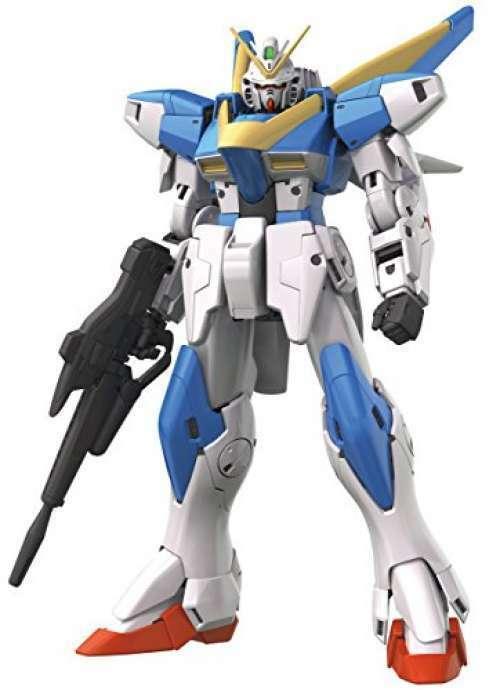 MG bilen Suit V Gundam V2 Gundam Ver.Ka 1  100 skalad färgkodad plastmodellllerl