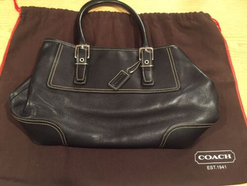Leather Medium Coach Black Geldbrse Coach Black vF0Wt4xw