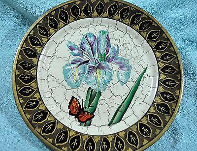 Decorative Iris Plate by Raymond Waites & raymond waites plates collection on eBay!