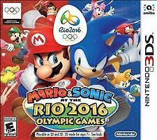 NEW Mario & and Sonic at the Rio 2016 Olympic Games (Nintendo 3DS, 2016)