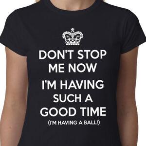 don t stop me adesso t shirt queen freddie mercury corona felice geek divertente slogan ebay dettagli su don t stop me adesso t shirt queen freddie mercury corona felice geek divertente slogan mostra il titolo originale