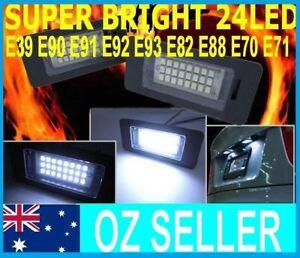 SUPER-BRIGHT-24-LED-Number-Plate-Lights-E90-E60-E92-E39-E60-M3-X5-Z4-F30