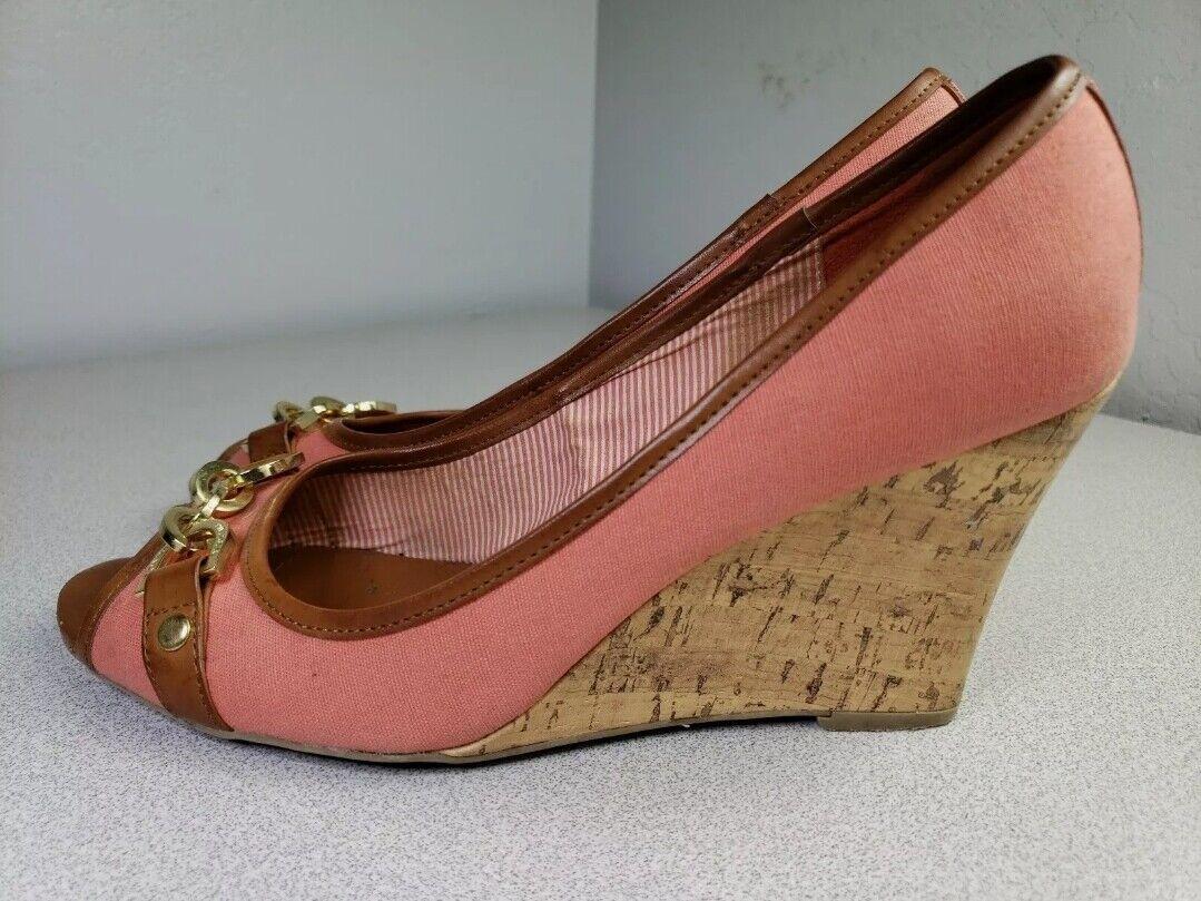 Tommy Hilfiger Sz 9 M Womens 'Tawnisha' Peep Toe … - image 6