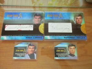 NEW-2017-Star-Trek-50th-Anniversary-COMPLETE-MASTER-SET-with-Cut-Signatures