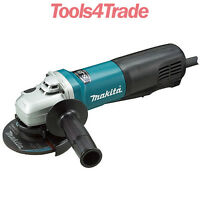 Makita 9564pcv High Power 115mm 1400w Angle Grinder 240v