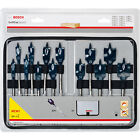 Bosch 13 PC 10mm - 32mm Wood Self Cut Flat/spade Speed Drill Bit Set 2608587010