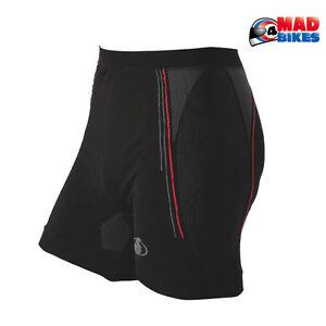 CARBON-Energized-Boxers-compression-moto-Couche-de-base-sous-short-Noir