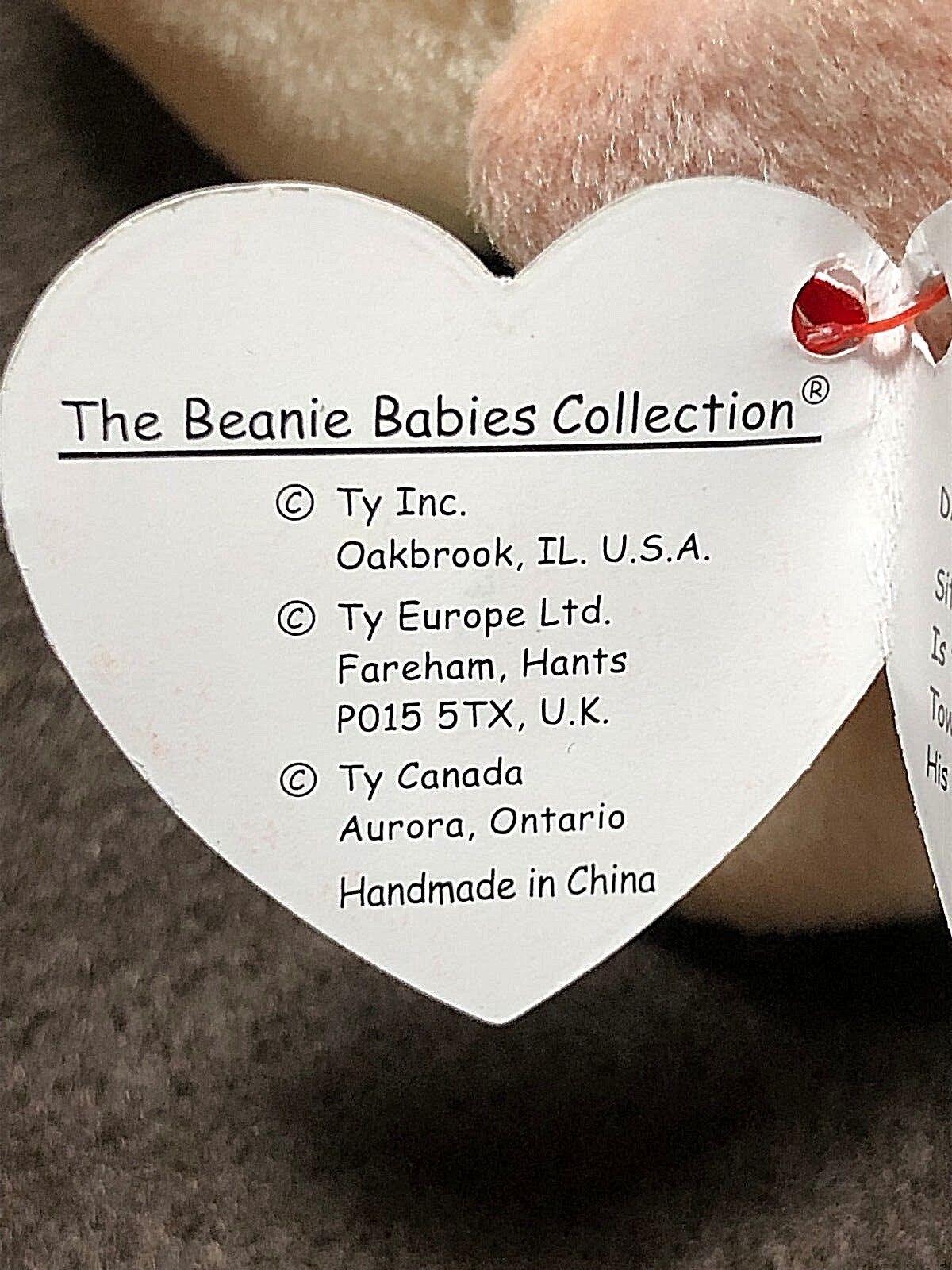 RARE 1997  Iggy    Ty Beanie Baby (Style 4038); PVC Pellets; MWMT; TAG ERRORS  fbe963