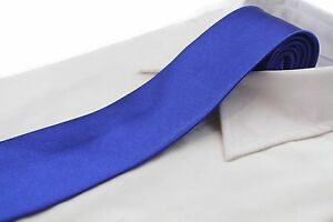 CHEAP-BLUE-MENS-amp-BOYS-TIES-Kids-Boy-Male-Wedding-NECK-TIE-SALE-Choose-Size