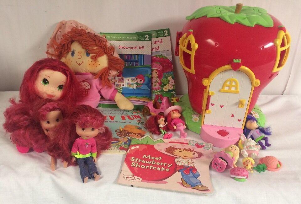 Strawberry   Shortcake Dolls Playset Huge Lot P2-8