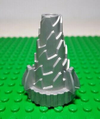 x 1 STEP DRILL LEGO PART 64713 LIGHT TAN SPIRAL CONE JAGGED