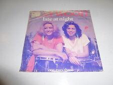 "MAYWOOD - Late at night - 1980 Dutch 2-track 7"" Juke Box vinyl single"