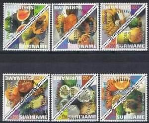 Suriname-rep-gestempeld-2000-used-1056-1067-Tropische-vruchten