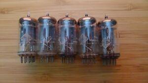 5-x-Tubes-Telefunken-ECC83-12AX7-ECC-83-matched-and-balanced-lot-13