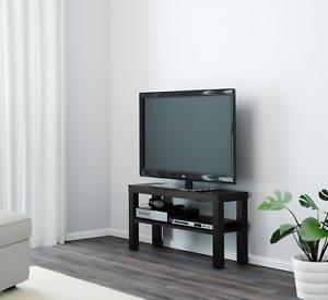 Details Sur Ikea Lack Banc Tv Noir Meuble Tv Pour Plasma Lcd Tv Del Afficher Le Titre D Origine
