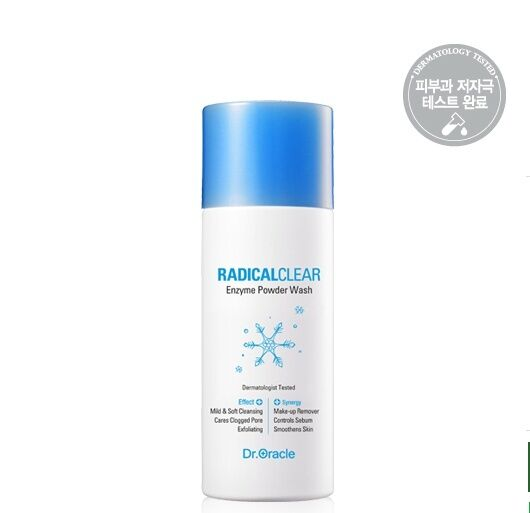 Dr. Oracle The Snow Queen Enzyme Powder Wash  50g For all skin types