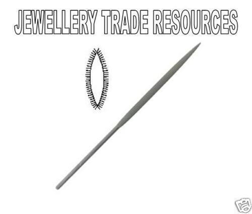Jewellers Swiss Made 160mm Oval Needle File Cut 4 Jewellery Making